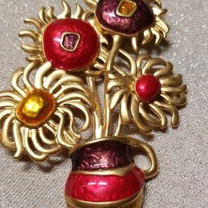 Jewelry - Vintage Floral Brooch